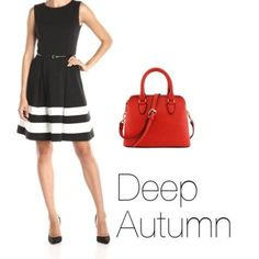 How to Wear Black Deep Autumn