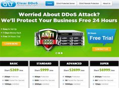 http://www.clear-ddos.com/	- Is your IT infrastructure attacking by DDoS? Let Clear-DDoS powerful cloud based virtual server to manage and secure 100% protection against attack.