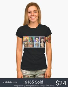 "The cast of ""Kill Bill"" in an arcade fighting game style select screen; B. Kiddo (Black Mamba), V. Green (Copperhead), O-Ren (Cottonmouth), Gogo Yubari,  Elle (California Mountain Snake), Budd (Sidewinder), Pai Mei, and Bill (Snake Charmer)."