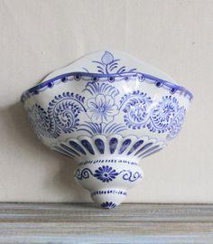 Blue And White Ceramic by TheUglyBarnFarm, etsy.com