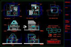 Planos de arquitectura casa unifamiliar 3 pisos en DIBUJO DE ...