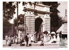 Zoológico de Buenos Aires, en el año  1914.