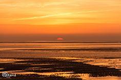 Sunrise. Zonsopkomst over de Waddenzee - Terschelling.