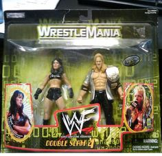 WWF Wrestlemania 2000 Double Slam Chris Jericho & Chyna J...