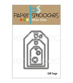 Paper Smooches Die - Gift Tags