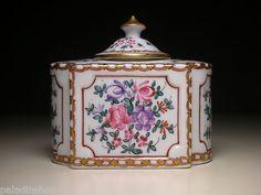 Vintage French Export Samson Porcelain Inkwell Chinese Export Style | eBay