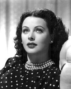 WOMEN CRUSH WEDNESDAY: Hedy Lamarr