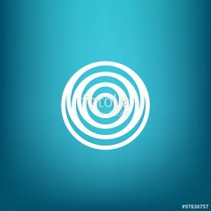 Vector: Vector Minimalistic Linear Water Ripple Circles Concentric Round Shape Logo in a Simple Modern Style Graphic Design Trends, Graphic Patterns, Logo Design Inspiration, Vector Vector, Vector Free, Sound Logo, Crea Design, Circle Game, Water Logo