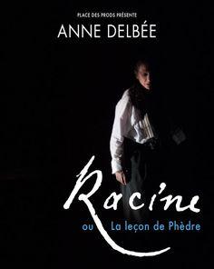 Racine renait avec les mots d'Anne Delbée au Théâtre de la Contrescarpe
