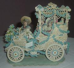 Victorian Children Pull Out Valentine