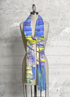 Modal Scarf - Hawaiian Surf by VIDA VIDA