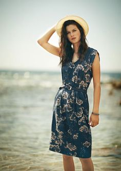 Chrysanthemum Dress by Toast (UK). I like the cut, the length - I think both color options are lovely as well. :)