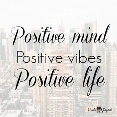 Be #positive!