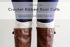 Ribbed Boot Cuffs For SM 4