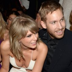 """Pin for Later: Taylor Swift Shares a Picture of Calvin Harris, One of Her """"Favourite People"""""""