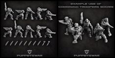 Bodies of new troopers are available as you asked: https://puppetswar.eu/product.php?id_product=745