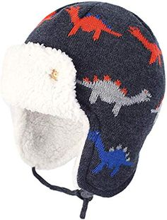 NWT GAP Cozy Flannel Trapper Hat Supersoft Sherpa Lining Toddler Boys 2 3 4 5