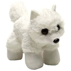 Hug'ems Mini Arctic Fox 7 Inch Animal Plush Figure