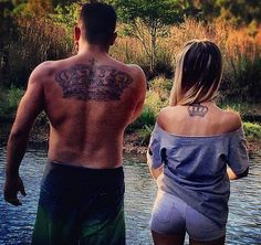 30 Couples Who Got Tattooed For Love. #19 Is Adorable. - http://www.lifebuzz.com/couple-tattoos/
