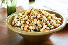 Cannellini bean and lemon salad -  http://www.vegansdontbite.com/cannellinibeanandlemonsaladrecipe/  #vegan #recipes