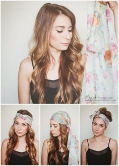 How To Tie a Head Scarf for the Summer – 3 Ways!