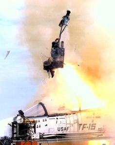 Ejection seat testing doesn't look fun