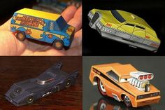 Tektonten Papercraft - Free Papercraft, Paper Models and Paper Toys: Hot Wheels Scale Movie Vehicles Papercraft