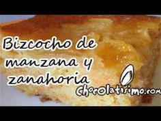 Bizcocho de manzana con zanahoria (Receta alemana) – Vídeo receta   Chocolatisimo