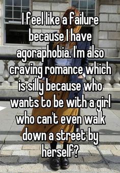 Agoraphobia is a fear of places and situations, usually public, that might trigger panic and anxiety. This is what it's like to live with it.