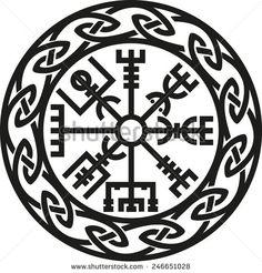 Vegvisir, Icelandic Compass, Protection