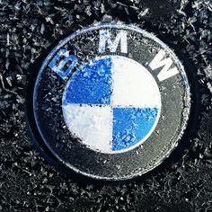 BMW Logo Ice