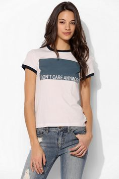 Project Social T Don't Care Tee