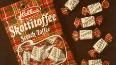Hellas Skottitoffee. Good Old Times, Old Ads, Spice Girls, Toffee, Vintage Ads, Pop Tarts, Finland, Childhood Memories, Nostalgia