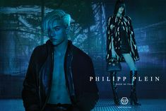 Lucky Blue Smith Fronts Philipp Plein Fall/Winter 2015 Campaign ❤️