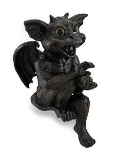 Sitting `Gargiggles` Shelf Sitter Gothic Gargoyle Statue…