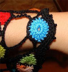 Küçük motiflerden şık bluz yapımı