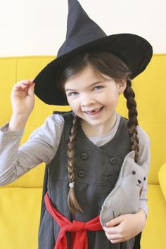This Mildred Hubble outfit is the perfect costume for Worst Witch fans on World Book Day. And you can reuse it for Halloween
