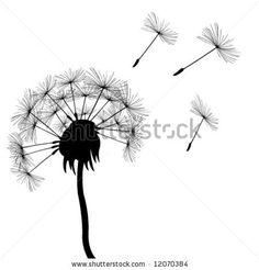 dandelion tattoo image