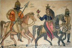 Antarah ibn Shaddad & Abla - Arab culture - The Arabian Romeo and Juliet Horn Of Africa, Arabian Art, Culture, Antara, Ancient Civilizations, North Africa, Rock Art, Art History, Black History
