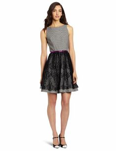 Amazon.com: Jessica Simpson Women's Fit and Flare Dress: Clothing  $70