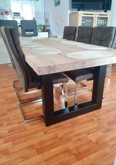 Masa lemn masiv stil scandinav Dining Table, Modern, Shop, Furniture, Home Decor, Homemade Home Decor, Trendy Tree, Dinning Table Set, Home Furnishings