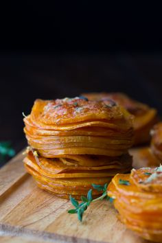 Herb & Coconut Oil Sweet Potato Stacks-2