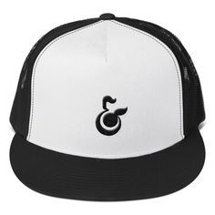 George & Orange Trucker's Cap - Black