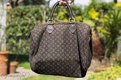 Louis Vuitton Mini Lin Monogram Speedy