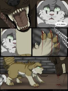Warriors-Eyes Of A Raven. Comic. A fanmade comic based off the Warriors series by Erin Hunter. This comic follows the adventurous life of a young cat called Raven as she battles against great enemi...