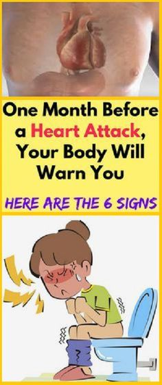 One Month Before a Heart Attack, Your Body Will Warn You, Important Signs Will Astonished You