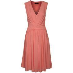 Luftiges rosafarbenes Casual Kleid von Selected Femme. Die Faltenlegung zaubert eine schöne Silhouette.