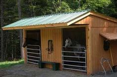 Would use something similar to this for horses needing to be outside 24/7 if needed