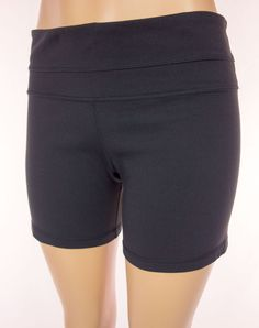 LULULEMON Reversible Shorts Size 12 L Large Black Run Yoga #Lululemon #Shorts