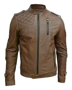 Tan Dean - Awesome jacket for cool nights out on the town. Casual Caldini!